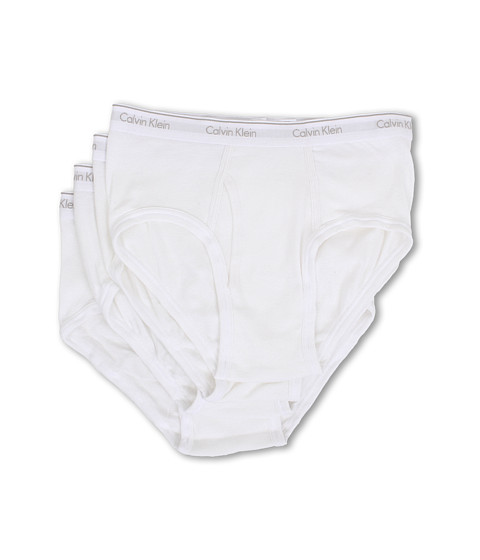 Calvin Klein Underwear Cotton Classic Brief 4-Pack U4000 - White