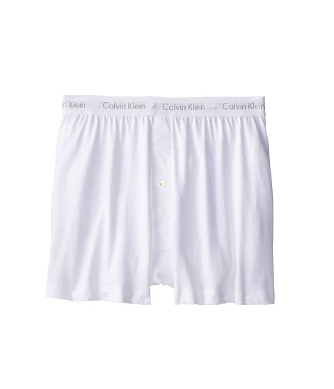 Calvin Klein Underwear Cotton Classic Knit Boxer 3-Pack NU3040 - White