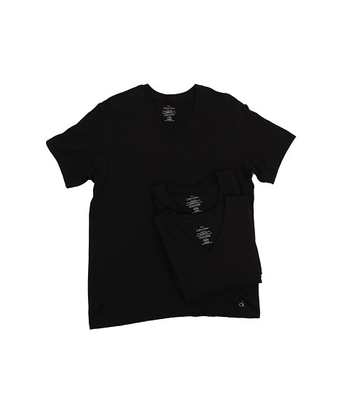 Calvin Klein Underwear Cotton Classic S/S V-Neck 3-Pack M4065