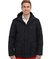 IZOD - Two-Tone Puffer With Hood