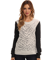 Rebecca Taylor - Long Sleeve Liger Stud Pullover Sweater