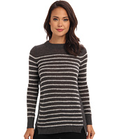 Rebecca Taylor - Long Sleeve Stripe Cashmere Pullover Sweater