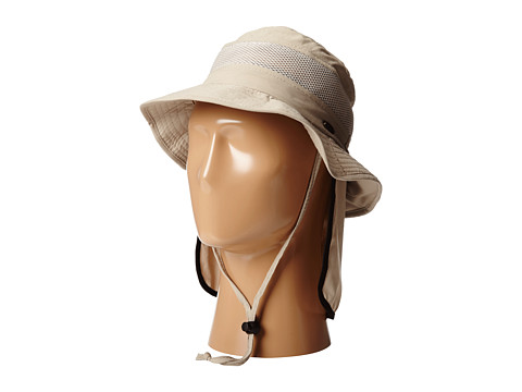 Stetson Boonie with No Fly Zone Insect Shield Fabric and Neck Flap