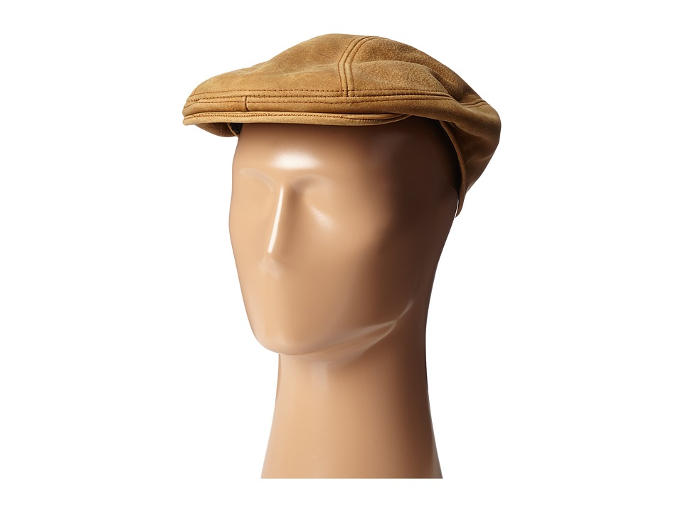 Stetson - Distressed Leather Ivy Cap