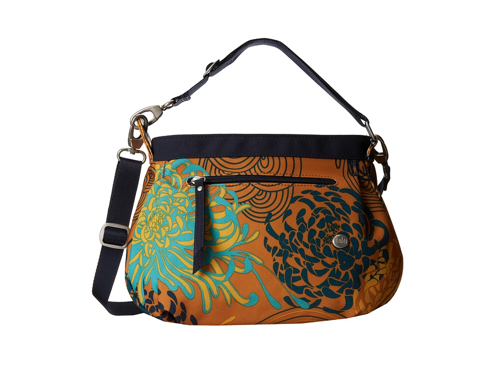 Haiku Bucket Bag Amber Mum Toss Print Cross Body Handbags