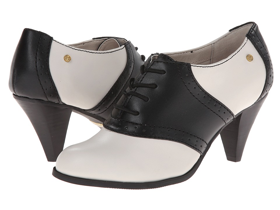 Bass Glenbrook (Cream/Black/Atanado Leather) High Heels
