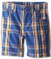 United Colors of Benetton Kids - Boys' Plaid 5-Pocket Shorts (Little Kids/Big Kids)