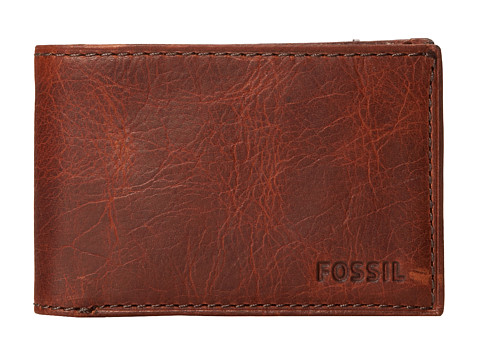 Fossil Conner Bifold - Cognac