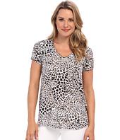 NYDJ - S/S Cheetah Print Blouse