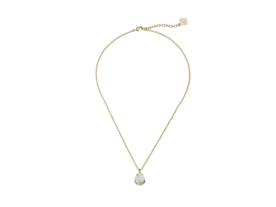 Kendra Scott Kiri Necklace Gold White Mother of Pearl Necklace