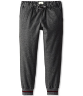 Fendi Kids - Grey Flannel Banded Bottom Pant (Little Kids/Big Kids)