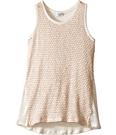 Splendid Littles - Texture Loose Knit L/S Wrap Tank Sweater (Big Kids)