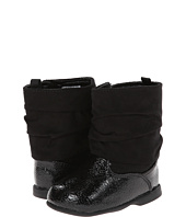 Baby Deer - Black Crinkle Patent (Infant/Toddler)