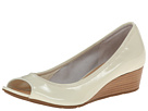 Cole Haan Air Tali OT Wedge 40 (Ivory Patent/Lurex)