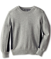 Vince Kids - L/S Colorblock Crew Neck (Little Kids)