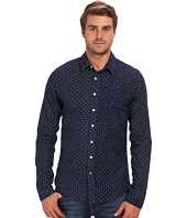 Scotch & Soda - Premium Indigo Printed Shirt
