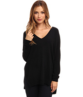 Autumn Cashmere - Hi Lo Slashed V Top