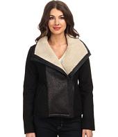 NYDJ - Faux Shearling Moto Jacket