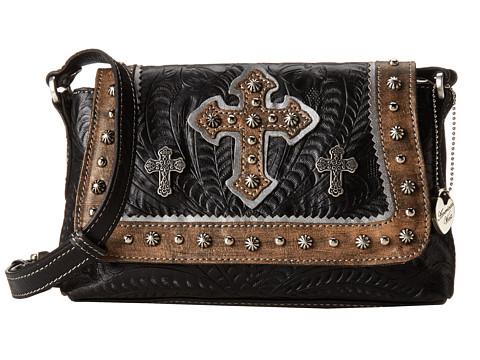American West Cassidy Crossbody Flap Bag