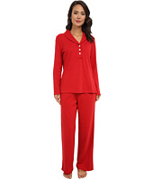 LAUREN Ralph Lauren - Hartford Lounge PJ Set with Quilted Collar