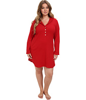 LAUREN Ralph Lauren - Plus Size Hartford Lounge Lounger with Quilted Collar