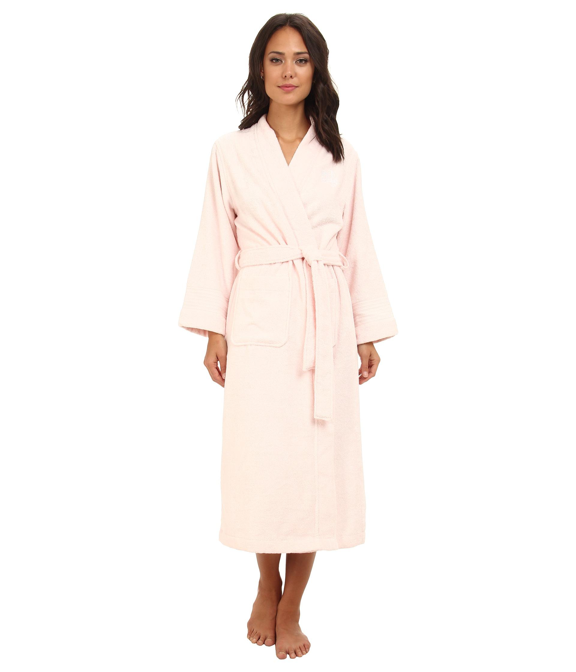 lauren ralph lauren greenwich woven terry long robe at. Black Bedroom Furniture Sets. Home Design Ideas