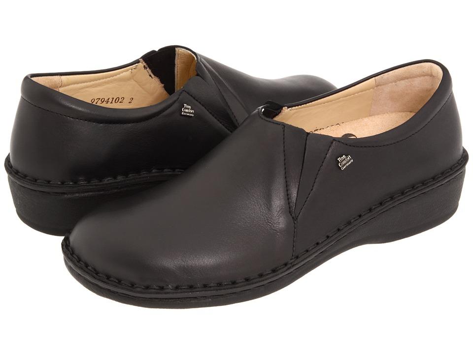 Finn Comfort Newport 2527 (Black) Women's Shoes