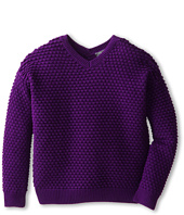 Vince Kids - Textured V-Neck (Big Kids)