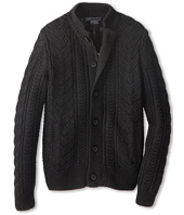 Vince Kids - Mock Neck Cable Zipper Cardigan (Big Kids)