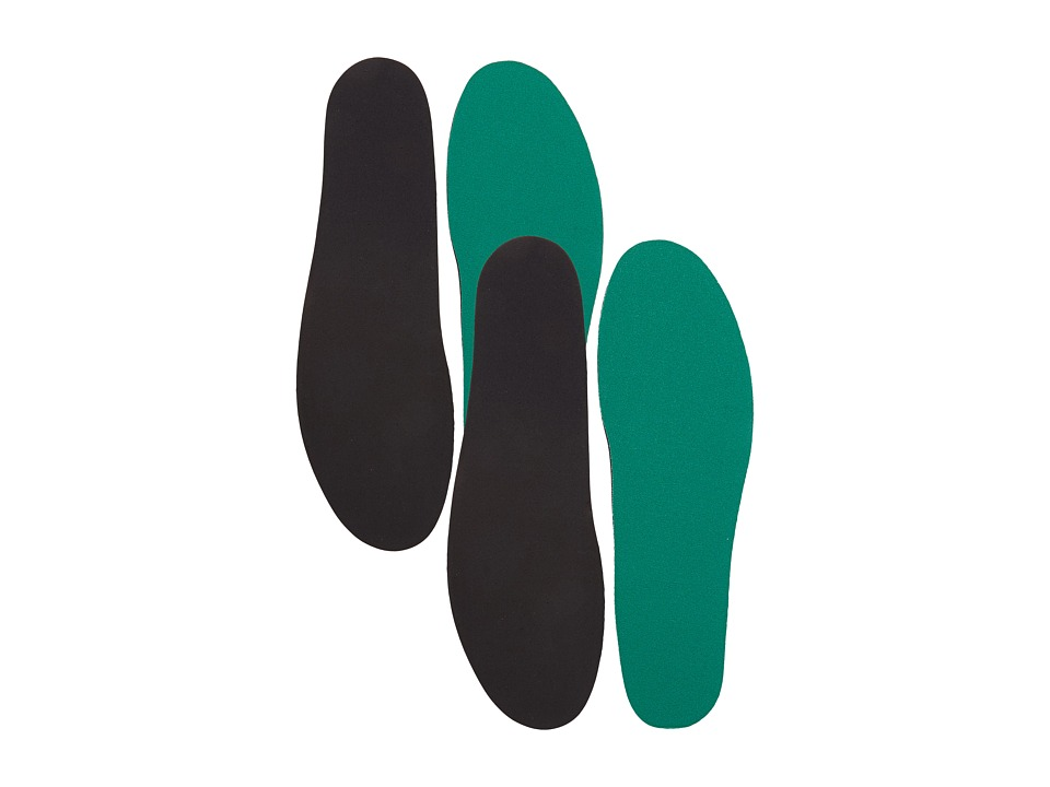 Spenco - Comfort Insole 2 Pack (Green) Insoles Accessories Shoes