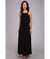 Calvin Klein - Solid Maxi Dress w/ Studs