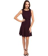 Calvin Klein - Ponte Belted Fit & Flare Dress
