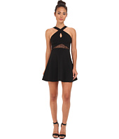 BCBGeneration - Sleeveless Cross Front Cocktail Dress