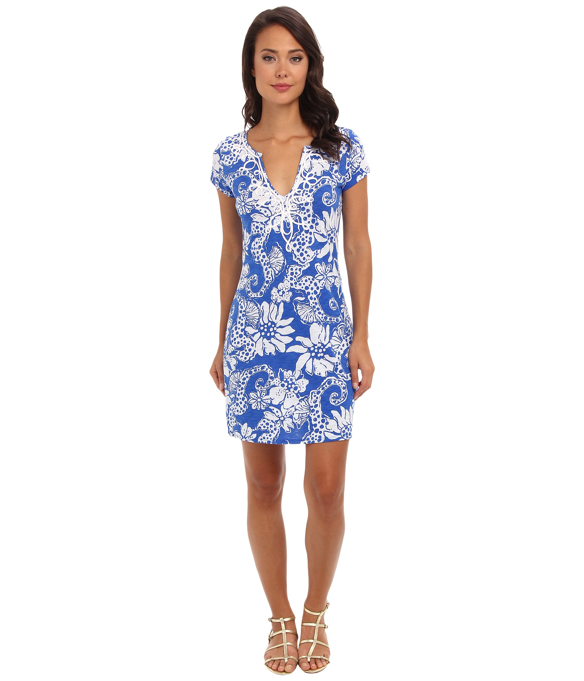 lilly pulitzer brewster t shirt dress shipped free at zappos