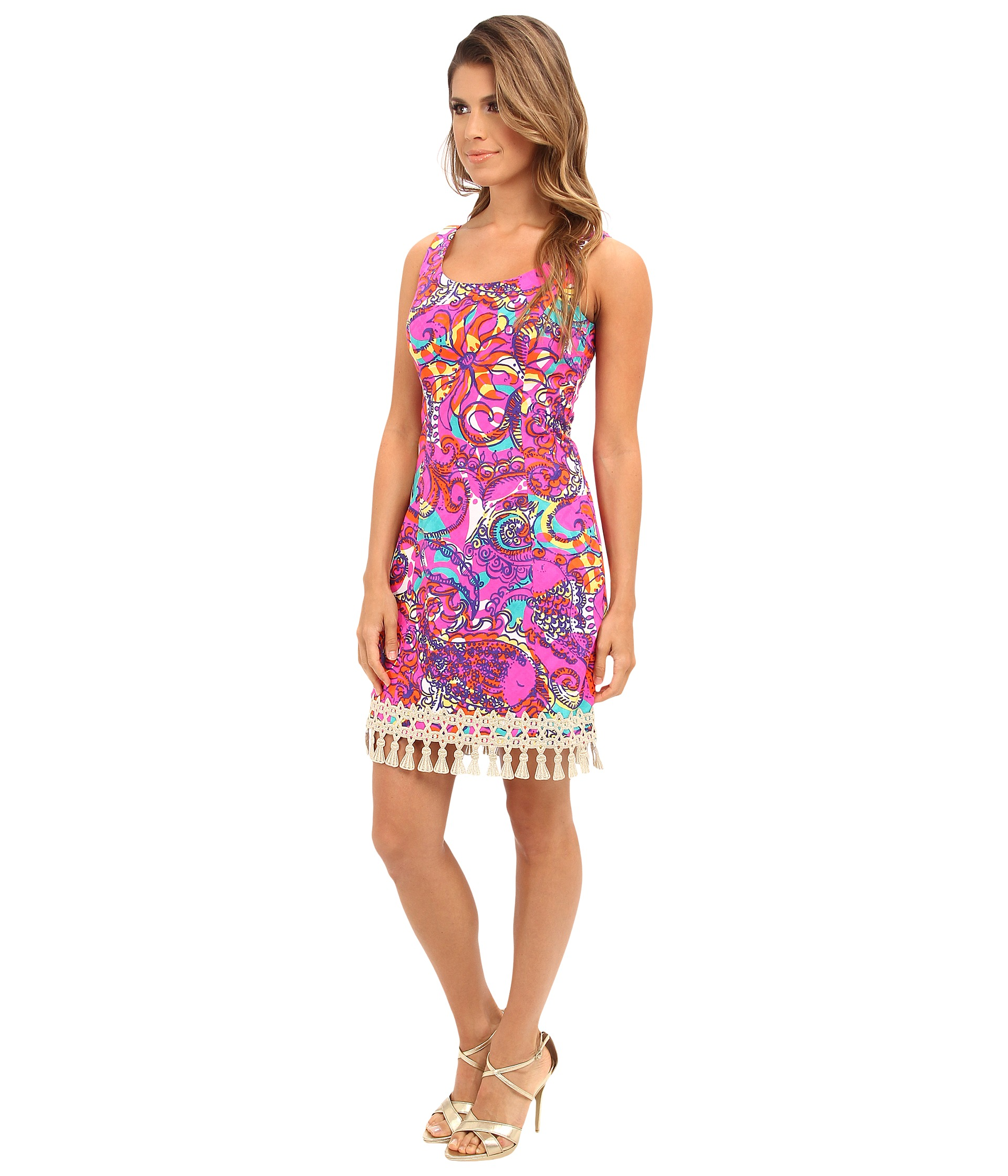 Lilly Pulitzer Eaton Shift Multi Sea And Be Seen Shipped
