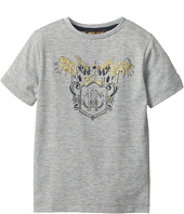 Roberto Cavalli Kids - Gold Raised Print S/S Tee (Toddler/Little Kids)