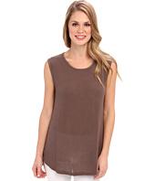 Allen Allen - Rayon Jersey Sleeveless Shirt