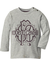 Roberto Cavalli Kids - Printed L/S Jersey Tee (Infant 2)