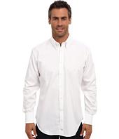 Thomas Dean & Co. - L/S BD Collar Herringbone w/ Paisley Jackquard