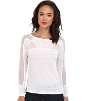 Aryn K - L/S Top w/ Sheer Panels