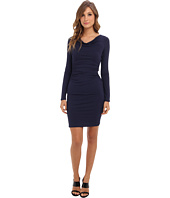 BCBGMAXAZRIA - Anyika Fitted Cowl Neck Dress