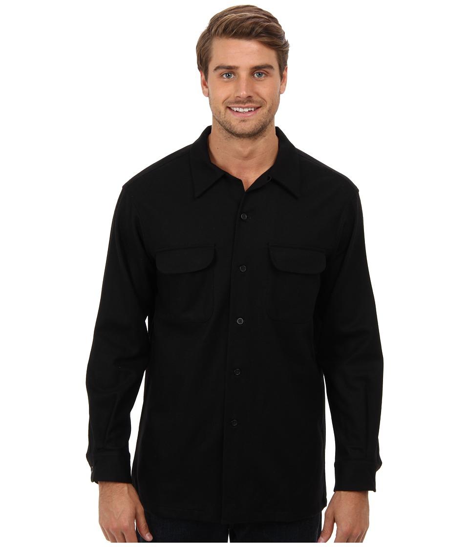 Pendleton L/S Board Shirt (Black) Men's Long Sleeve Butto...