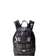 Dolce & Gabbana - Tartan Print Nylon Backpack
