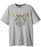 Roberto Cavalli Kids - Gold Raised Print S/S Tee (Big Kids 2)