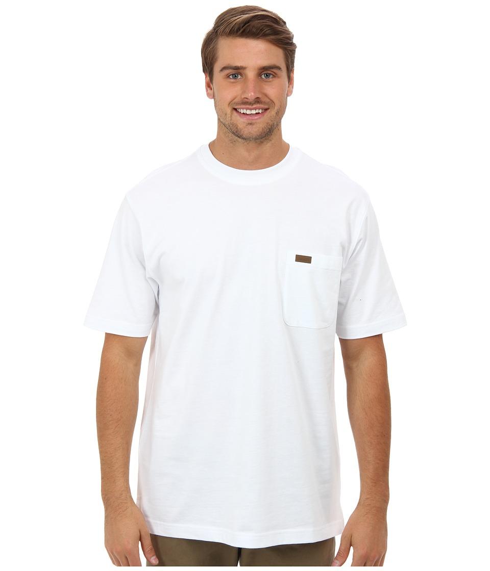 Pendleton S/S Deschutes Pocket Shirt (White) Men