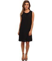 Calvin Klein - S/L Rib Trim Dress