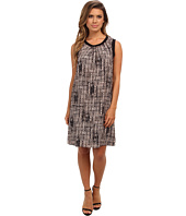 Calvin Klein - Printed Rib Trim Dress