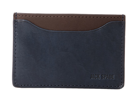 Jack Spade Mitchell Leather Credit Card Holder