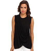 BCBGMAXAZRIA - Rumor Sleeveless Crisscross Top