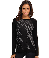 BCBGMAXAZRIA - Lex Jacquard Pullover Sweater